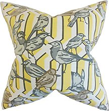 The Pillow Collection Bela Aviary Cushion Cover,