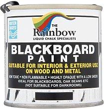 The Rainbow Blackboard Paint 250ml (Pack of 6 x