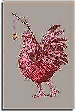 The Rooster Painting