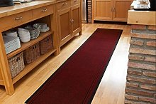 The Rug House Concorde Rich Red Non Slip