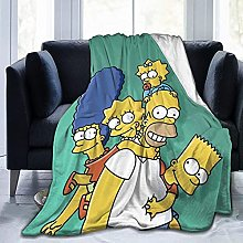 The Simpsons Throw Blankets Microfiber Fleece
