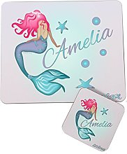 The Supreme Gift Company Personalised Kids Mermaid