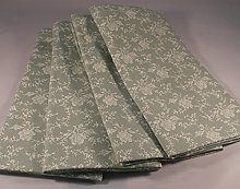 THE TABLECLOTH COMPANY PACK OF 4 VINTAGE SAGE