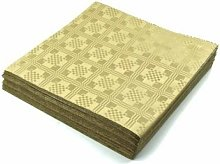 THE TABLECLOTH SHOP Gold Paper Table Covers x 25