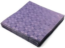 THE TABLECLOTH SHOP Purple Paper Table Covers x 25
