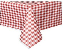 THE TABLECLOTH SHOP Red Gingham Paper Table Covers
