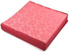 THE TABLECLOTH SHOP Red Paper Table Covers x 25