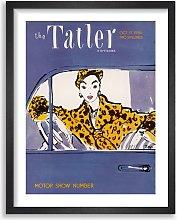 The Tatler - October 1956 Magazine Cover Framed