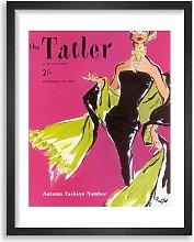 The Tatler - September 1955 Magazine Cover Framed