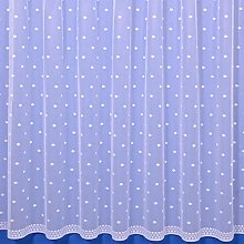 The Textile House Dot Contemporary Net Curtain -