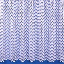 The Textile House Elsa White Floral Net Curtain -