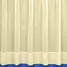 The Textile House Jayne Cream Envelope Hemmed Net