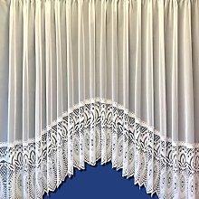 The Textile House Lilian Jardiniere Net Curtain -