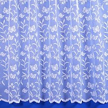 The Textile House Meadow Butterfly Floral Net