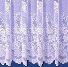 The Textile House Sally Jacquard Net Curtain -