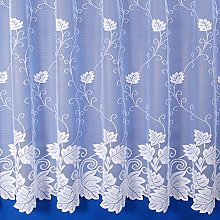 The Textile House Vermont Floral Net Curtain in