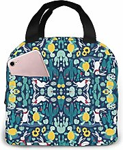 The Tortoise and The Hare Giftwrap Lunch Bag for