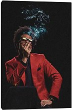 The Weeknd Poster Painting Wall Art Canvas for