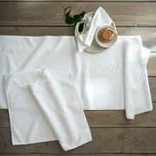 The White Company Signature Runner Bath Mat,