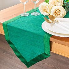 The White Petals Emerald Green Dining Table
