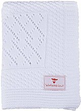 The Wool Company Patterned Knitted Baby Blankets