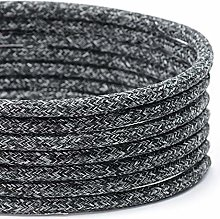 TheCable.Store 3 Core Round Speckled Black Flex