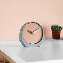 Theda Tabletop Clock Symple Stuff Colour: Beige red