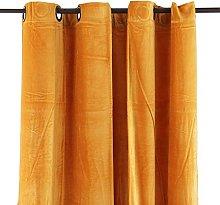 Thedecofactory 156161 Cotton Velvet Curtain,