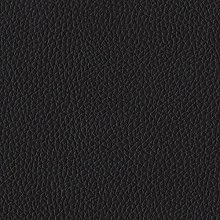 TheFabricTrade BLACK GRAINED TEXTURED FAUX LEATHER