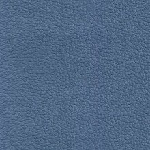 TheFabricTrade BLUE GRAINED TEXTURED FAUX LEATHER