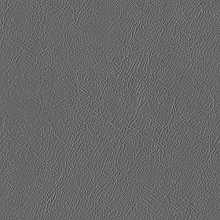 TheFabricTrade GREY SMOOTH TEXTURED FAUX LEATHER