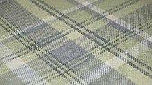 TheFabricTrade Sage Green Tartan Plaid Check Tweed