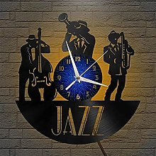 Theme Vinyl Record Wall Clock Wall Clock Kitchen