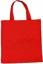 Thepaperbagstore 5 RED RE-USEABLE SHOPPING BAG