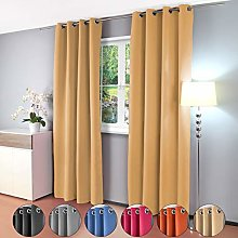 Thermal Curtain Opaque Blackout Curtain with