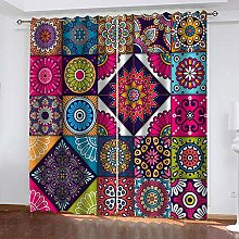 Thermal Insulated Blackout Curtain, Colourful