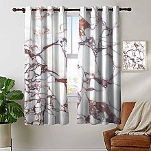 Thermal Insulated Blackout Curtain Marble,Dolomite