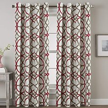 Thermal Insulated Blackout Grommet Curtain Drapes