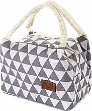 Thermal Insulated Lunch Box Tote Cooler Bag Bento