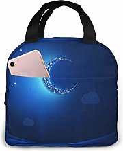 Thermal Lunch Bags,Insulated Lunch Tote,Reusable