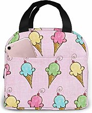 Thermal Lunch Bags,Picnic Cooler Tote Box,Reusable