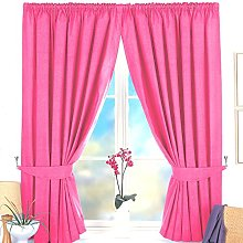 Thermal Pencil Pleat BLACKOUT Curtain Pair In 9