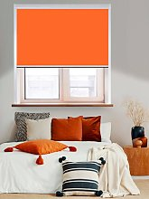 Thermal Plus Orange Total Blackout Roller Blind