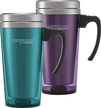 ThermoCafe by Thermos Translucent Travel Mug -