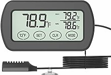Thermometer Hygrometer Monitor Gauge, Automatic