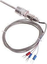 Thermometer RTD Pt100 Temperature Sensor Probe L 5
