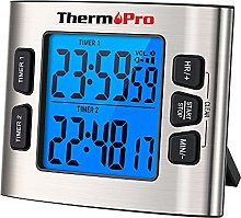 ThermoPro TM02 Backlight Count Down Kitchen Timer