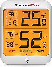 ThermoPro TP53 Hygrometer Digital Indoor Room