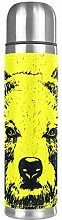 Thermos Cup Kids Black Bear Yellow Vacuum Cup