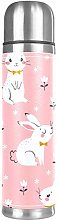 Thermos Cup Kids Cartoon White Rabbit Vacuum